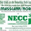 MassCANN/NORML at NECC Saturday Feb 21 & Sunday Feb 22, 2015! Come support MassCANN & The budding cannabis industry – Buy Your Tickets TODAY!