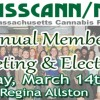 MassCANN/NORML Member Meeting & Annual Elections – Saturday March 14th Pizzaria Regina Allston