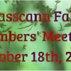 Fall Member's Meeting