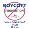 Protest Patriot Care 2/16 10:30am!