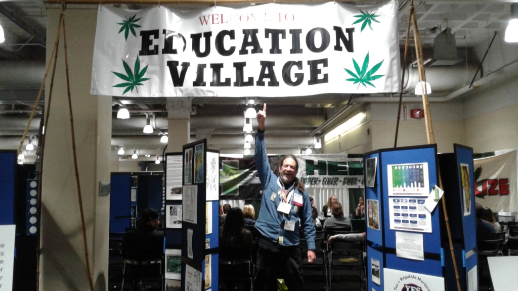 Education Village at New England Cannabis Convention, 2017