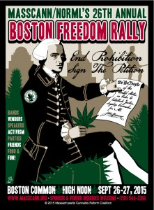 Boston Freedom Rally 2016